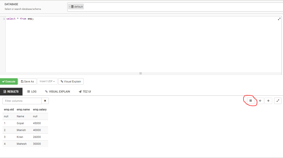 Solved: How to store Query Results to Local Drive - Cloudera