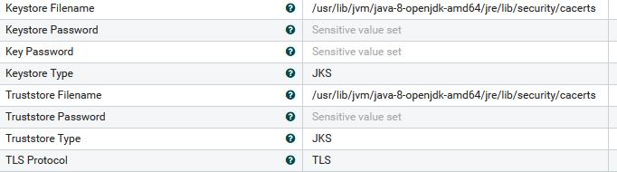 SSL Context Service