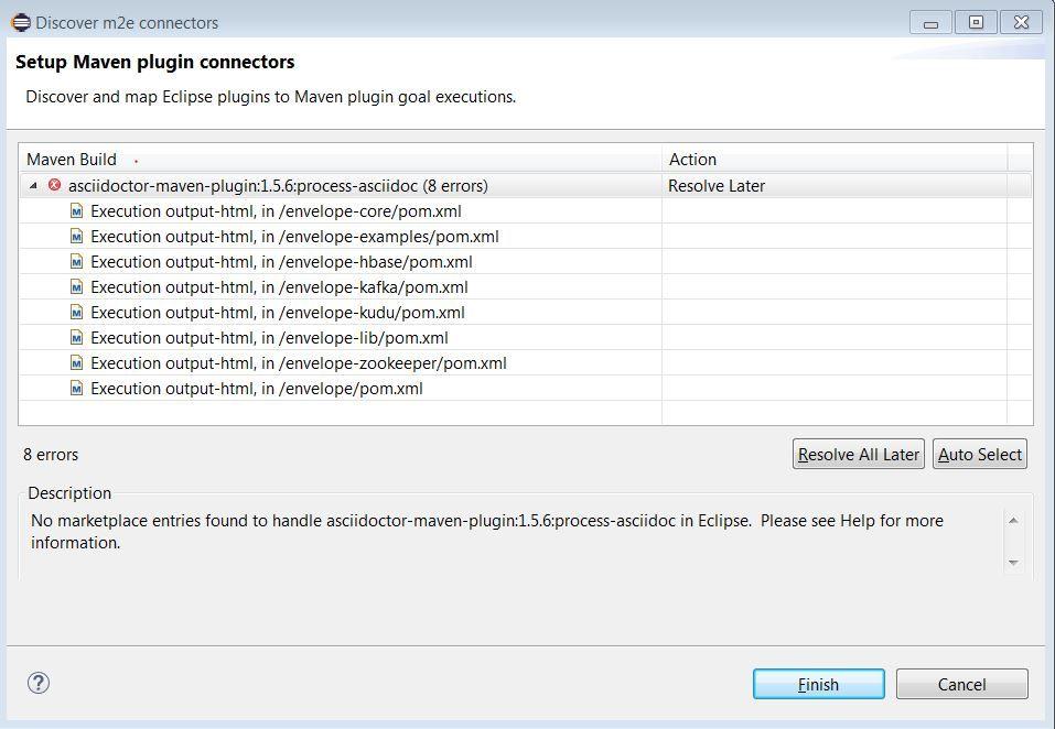 asciidoctor plugin issue