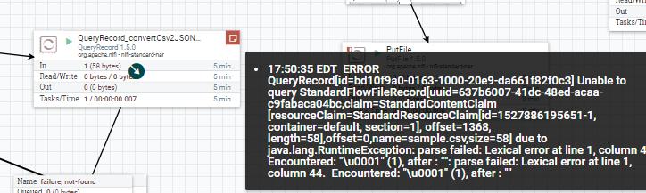 Solved: Re: Can NIFI QueryRecord Processor configure FlowF