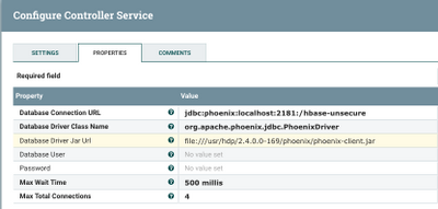 Reading OpenData JSON and Storing into Phoenix Tab