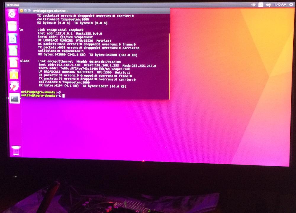 Integrating NVIDIA Jetson TX1 Running TensorRT int