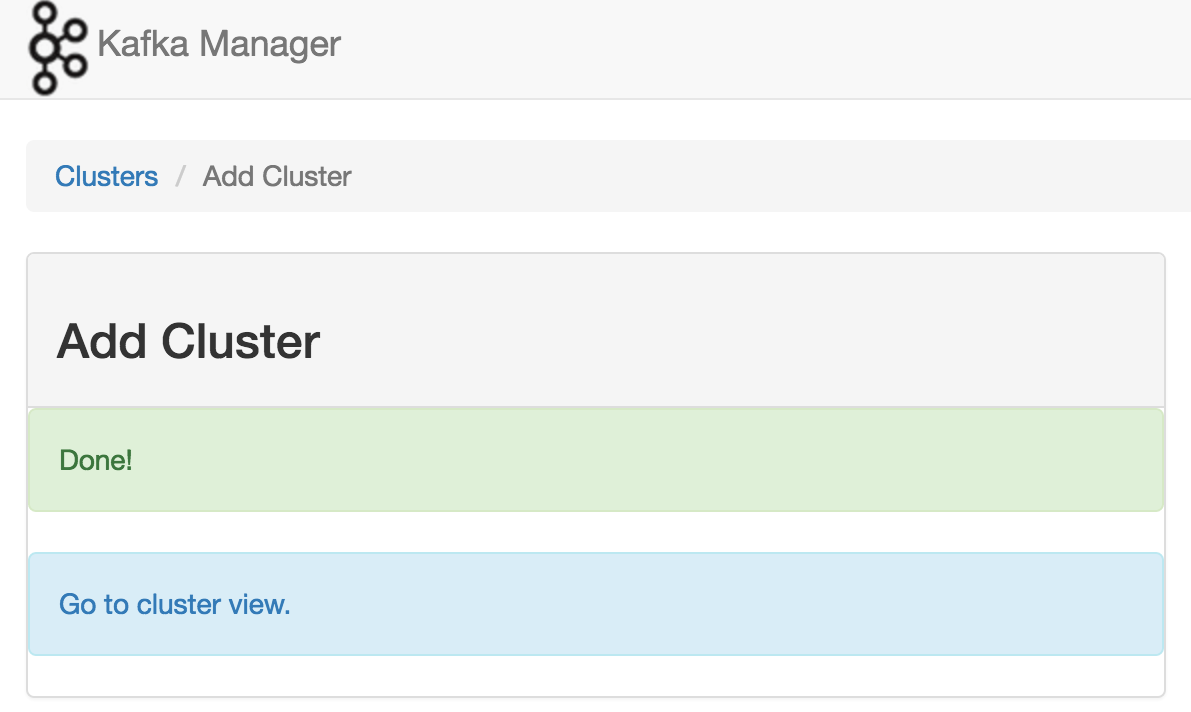Using Kafka Manager with HDP 2 5 Sandbox Kafka - Cloudera