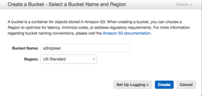 How to access data files stored in AWS S3 buckets