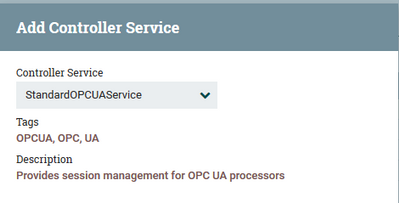 Collect data from OPC UA protocol - Cloudera Community