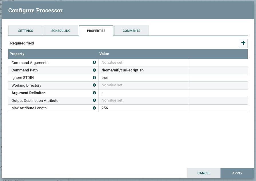 Solved: How to initialize a processor via NIFI API