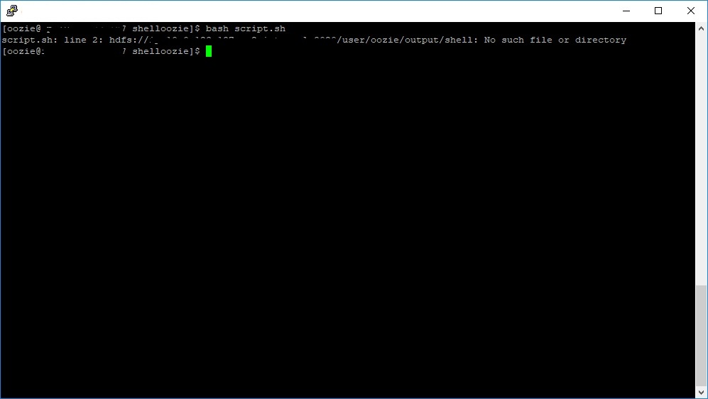 Solved: [Closed] : How to store output of shell script in