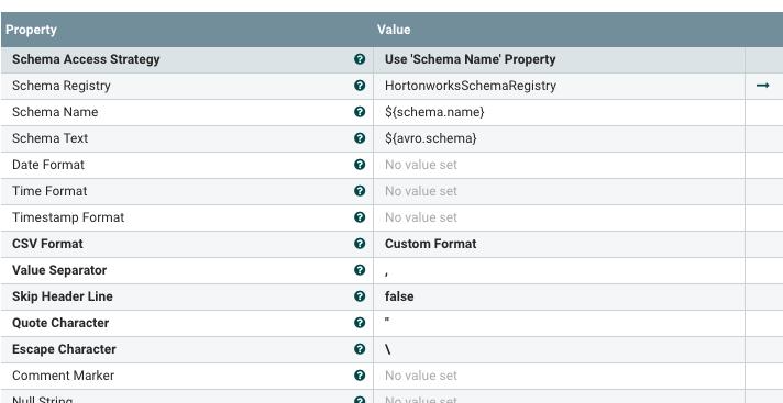 Solved: Schema Registry metadata error from NiFi: Unrecogn