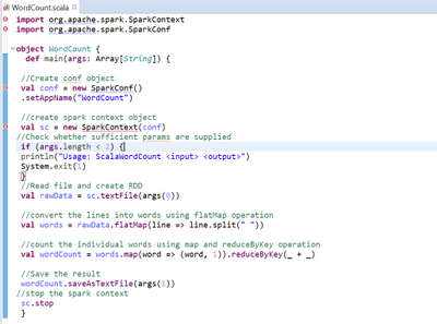 Spark application using scala IDE - Cloudera Community