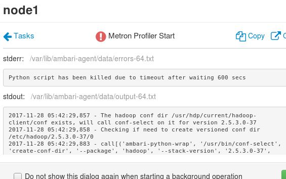 Solved: Trying to deploy Apache Metron on single node VM