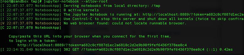 Installing Jupyter on sandbox - Cloudera Community