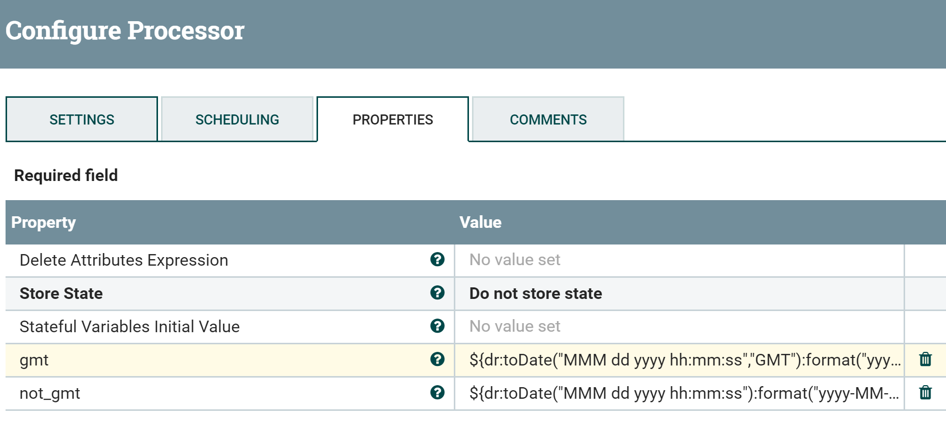 Solved: How to convert string to date in NiFi - Cloudera