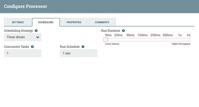 Solved: Nifi job scheduling - Cloudera Community