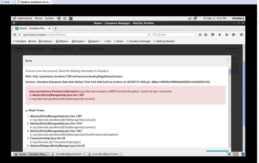 error in cloudera enterprise dition.JPG