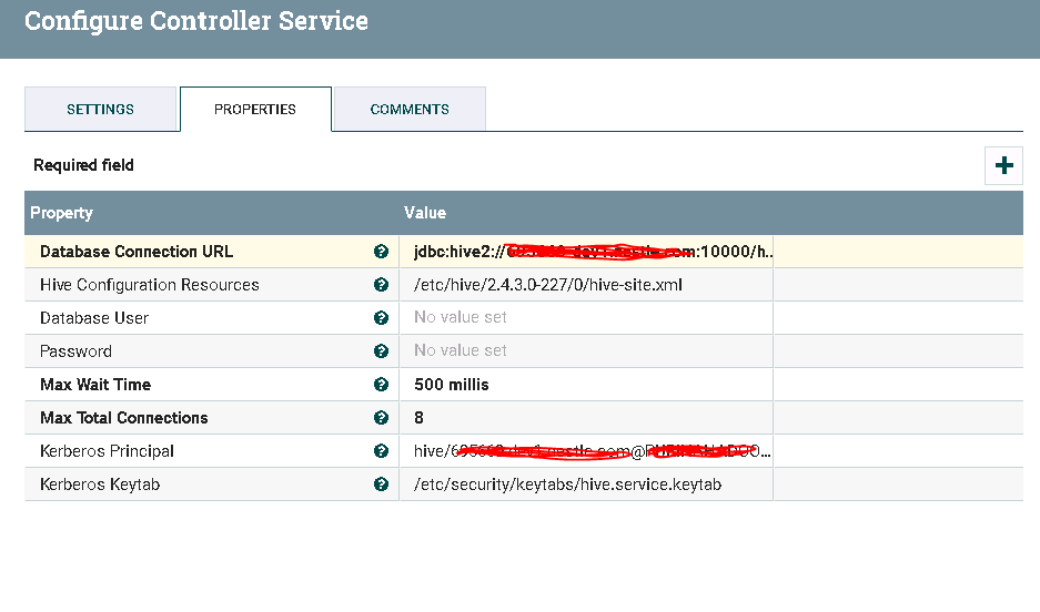 NiFi Hive Connection Pool Error  - Cloudera Community