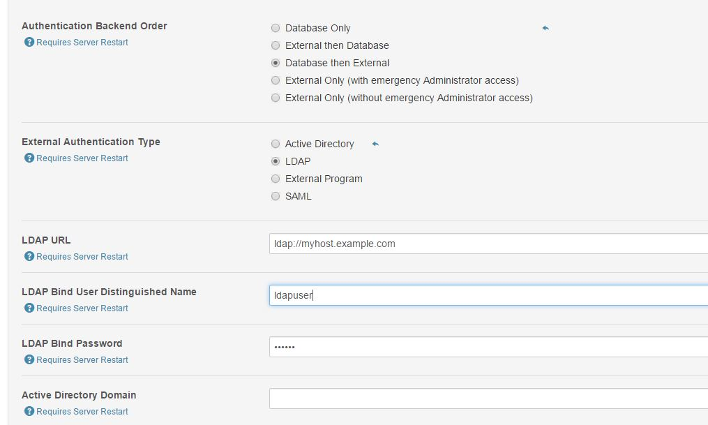 External Authentication in cloudera manager 5 - Cloudera Community