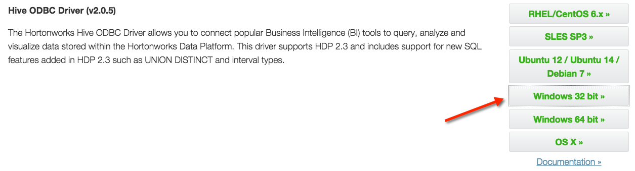 Unable to connect Microsoft Excel 2013 to Hive - Cloudera