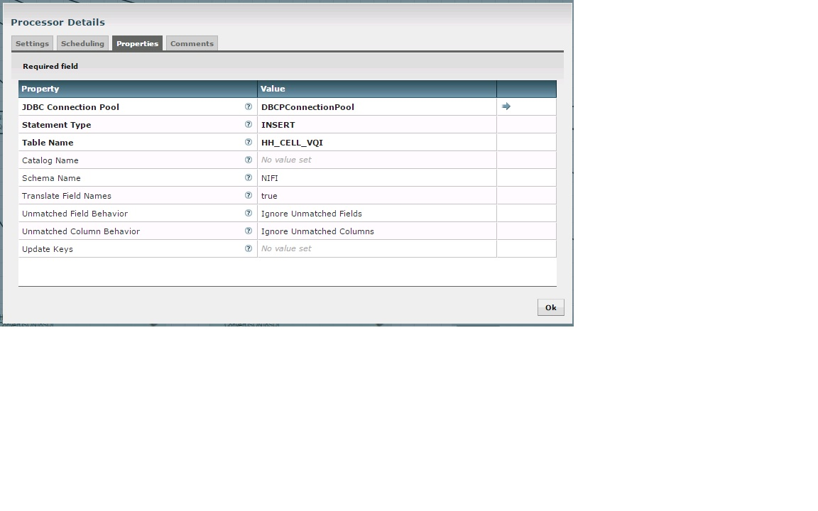Oracle Invalid column name - Cloudera Community