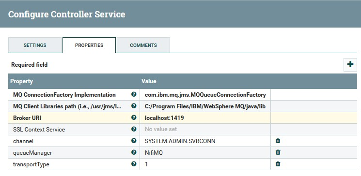 Solved: nifi disabled controller-services and ConsumeJMS f