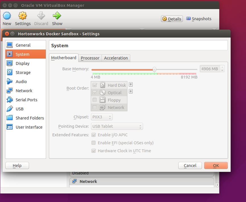 Hadoop 2 5 sandbox connectivity issue on VirtualB