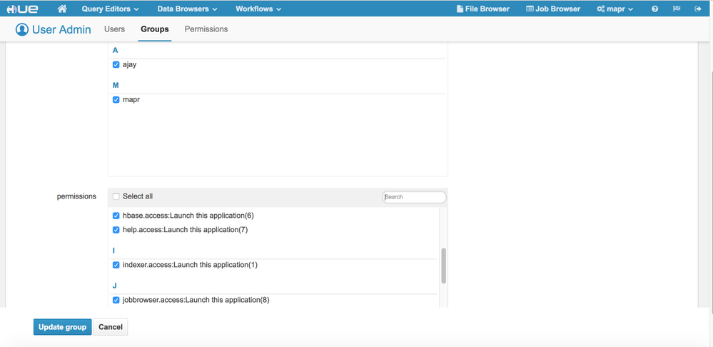Solved: Unable to access Impala app from HUE Web UI - Cloudera Community