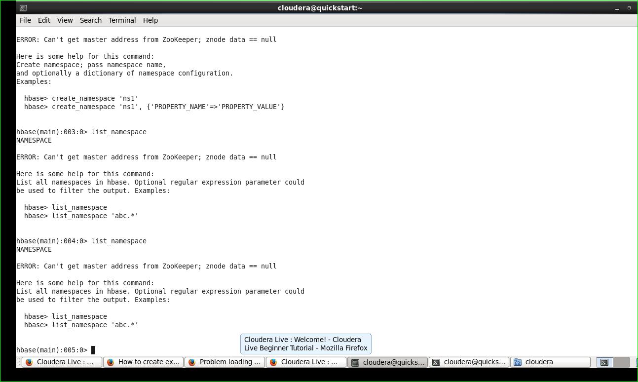 how to start hbase shell on cloudera ? - Cloudera Community