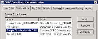 Oracle Business Intelligence with Impala - Cloudera Community
