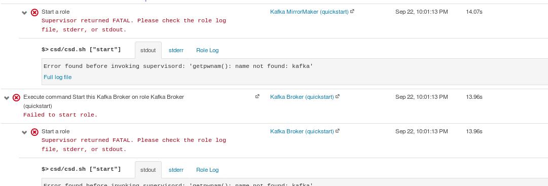 Solved: adding a Kafka service failed - Cloudera Community