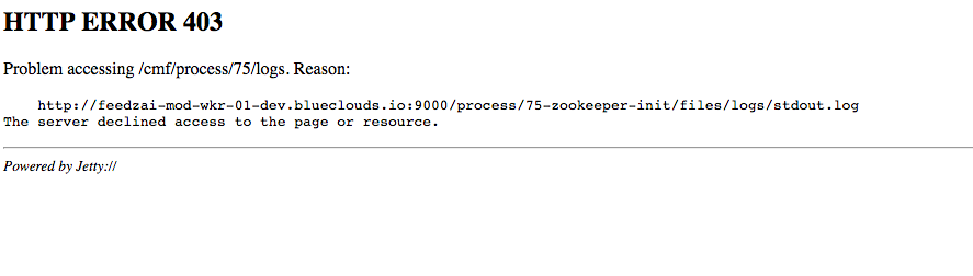 install zookeeper Error found before invoking supe
