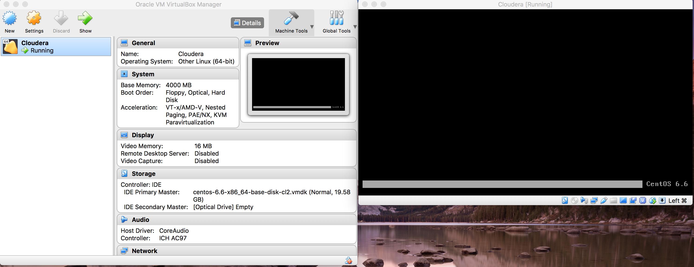 Cloudera CDH not loading properly in Mac OS X usin    - Cloudera