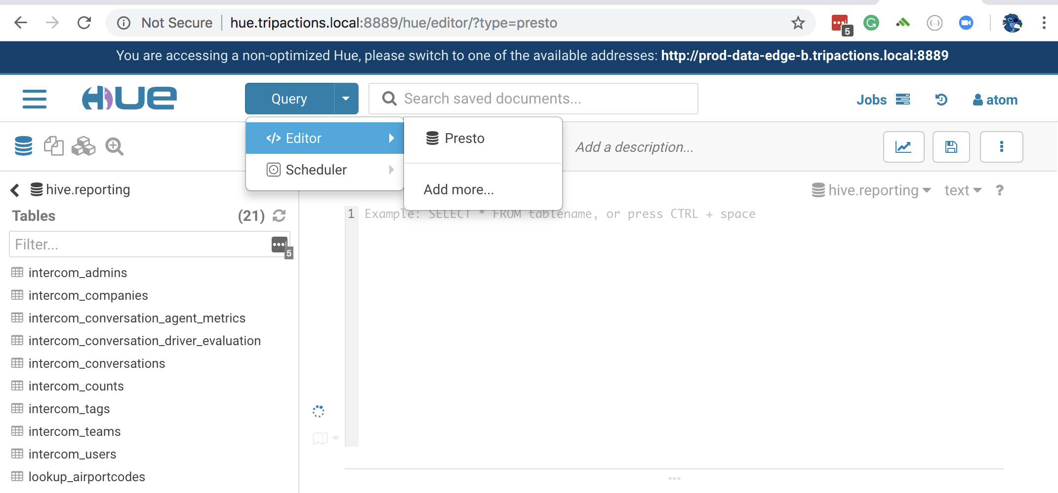 Solved: Hive not available in HUE - Cloudera Community