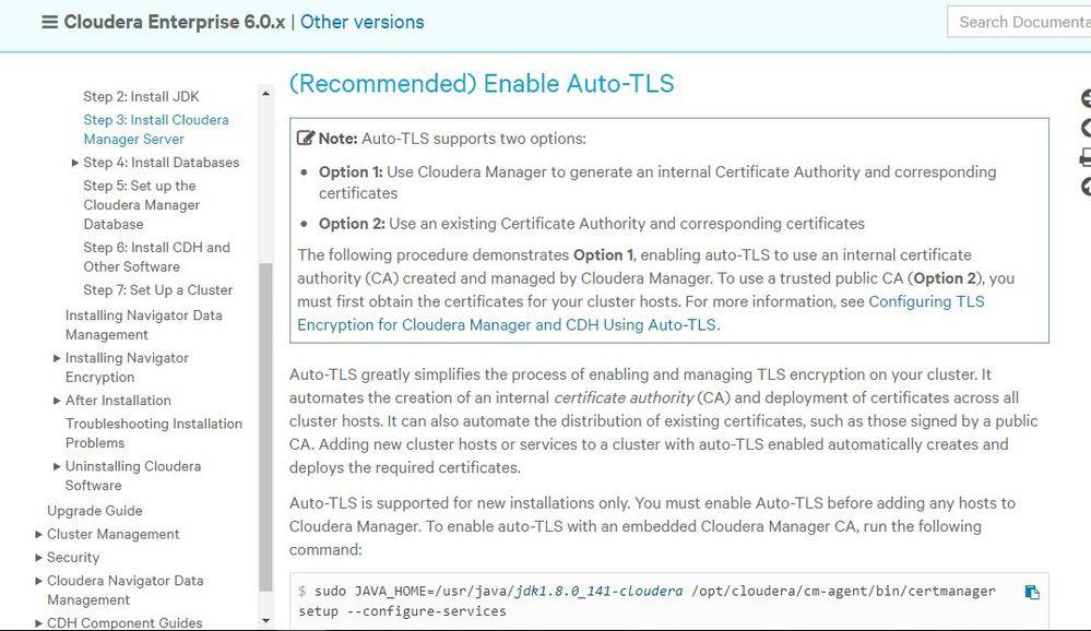 Auto TLS  Cloudera agent unable to send heartbeat - Cloudera