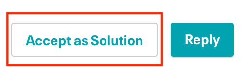 mark as solution button