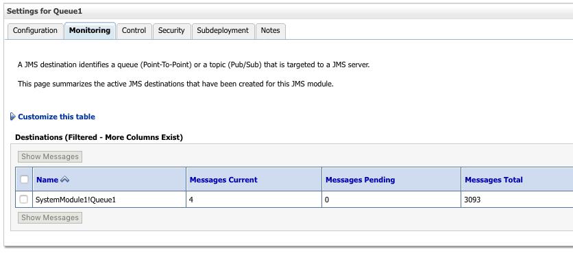 Using ConsumeJMS and PublishJMS with Weblogic 12c