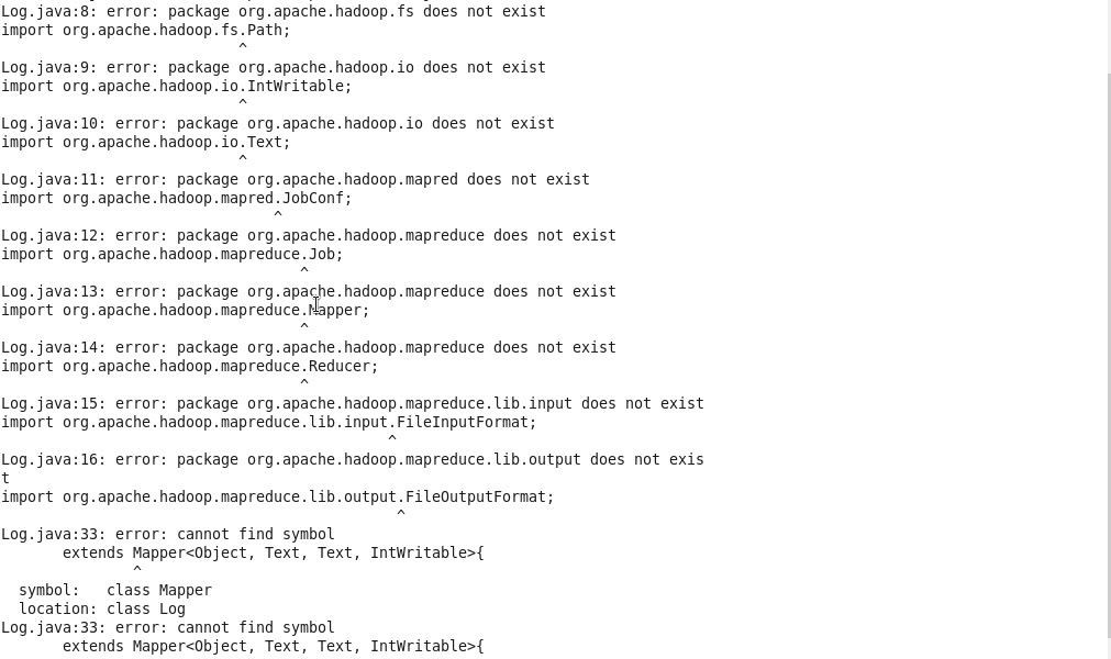 Solved Error At Moment To Compile My Java Code Cloudera Community