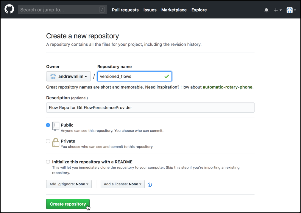 Storing Apache NiFi Versioned Flows in a Git Repos