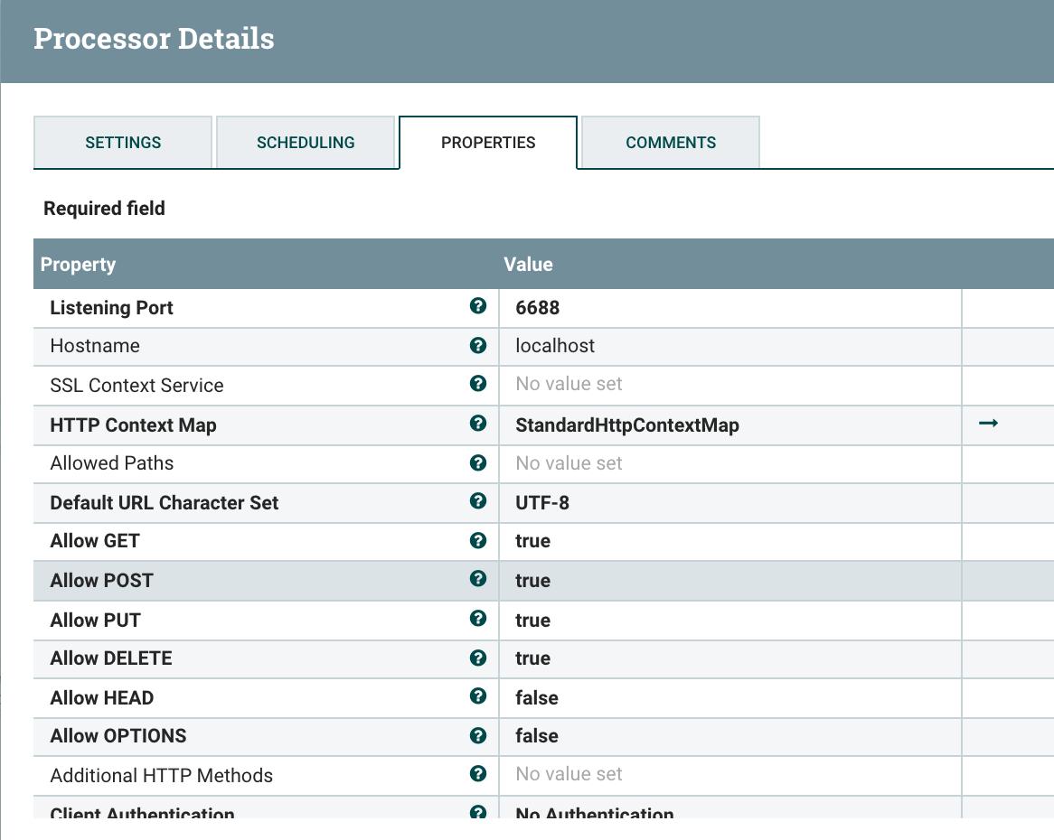 An Example WebSocket Application in Apache NiFi 1