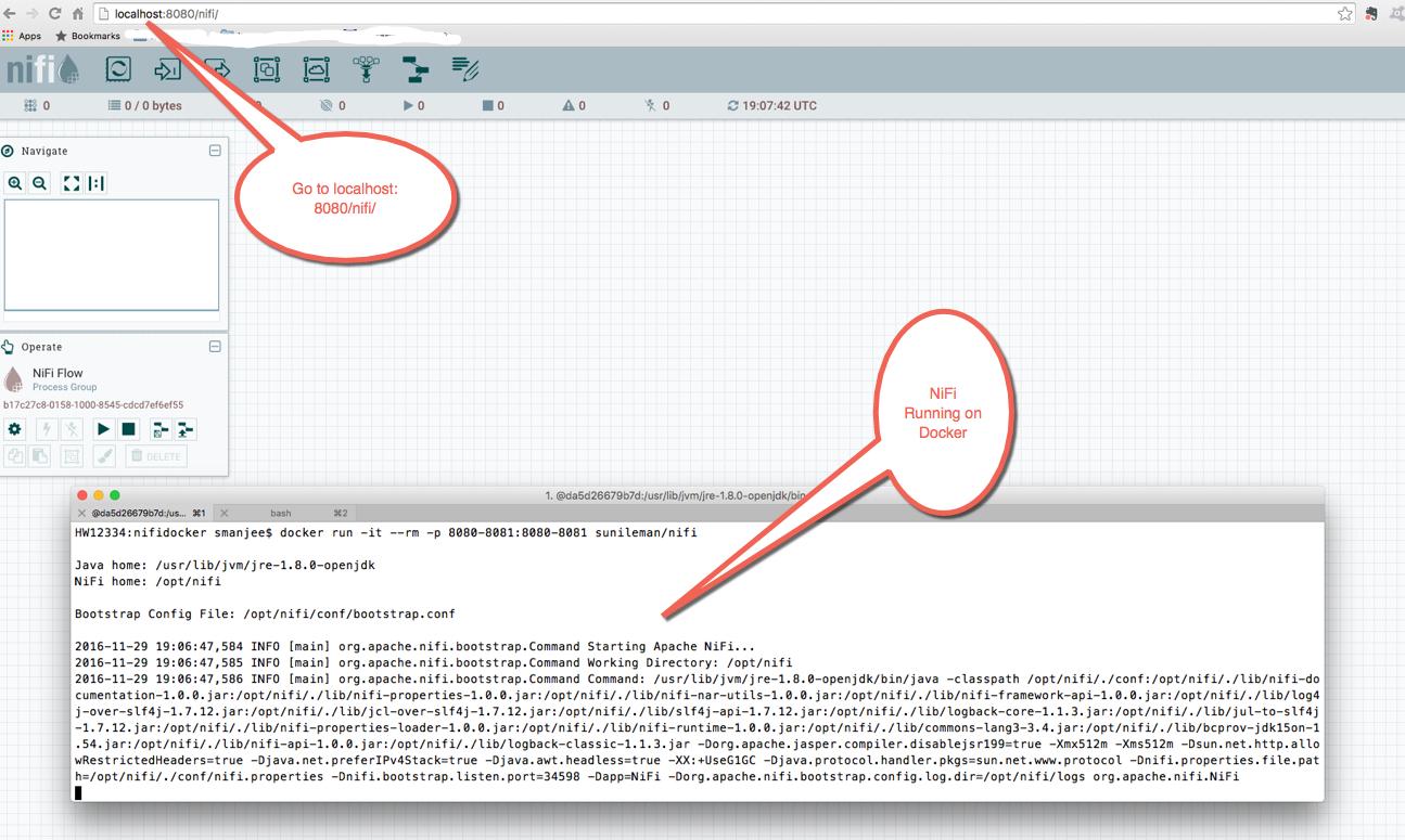 Launching a NiFi Docker Instance - Cloudera Community