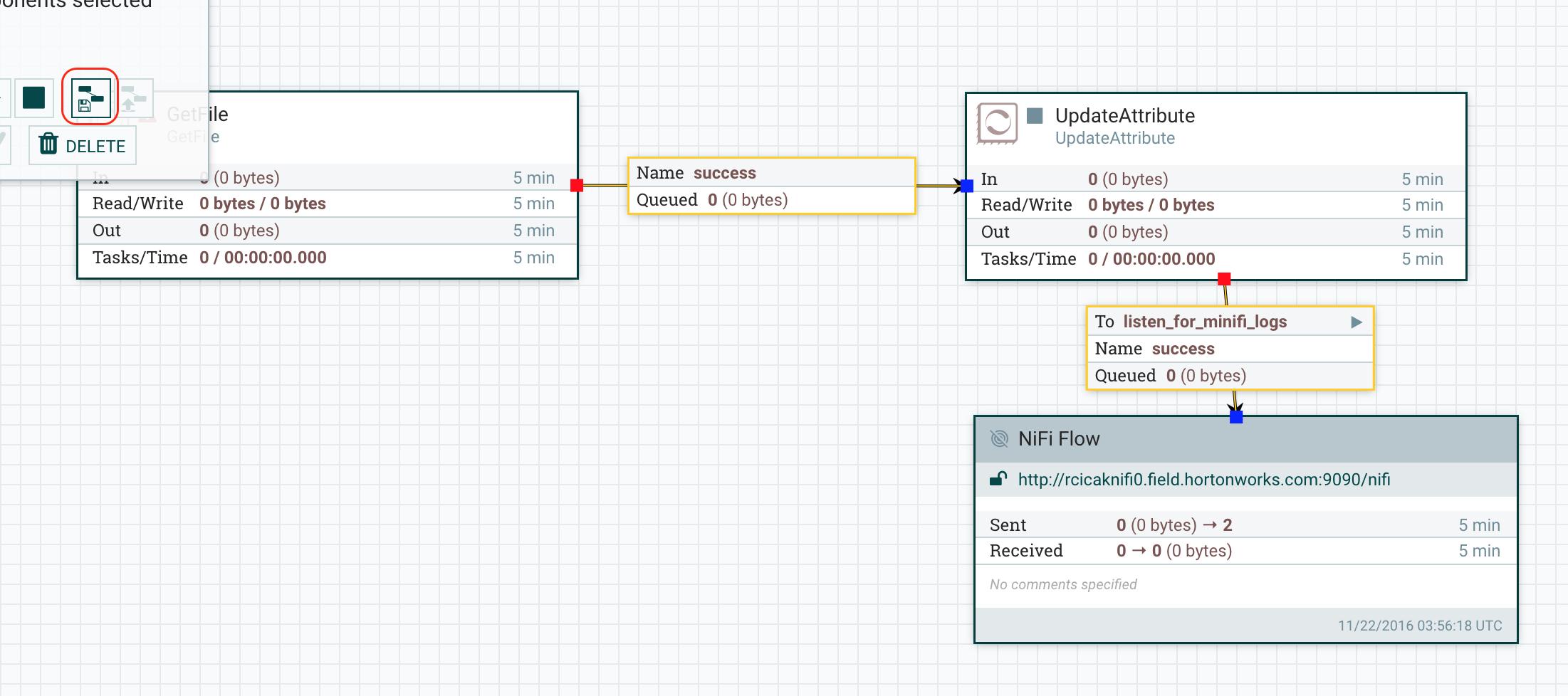 Ingesting Log data using MiNiFi & NiFi - Cloudera Community