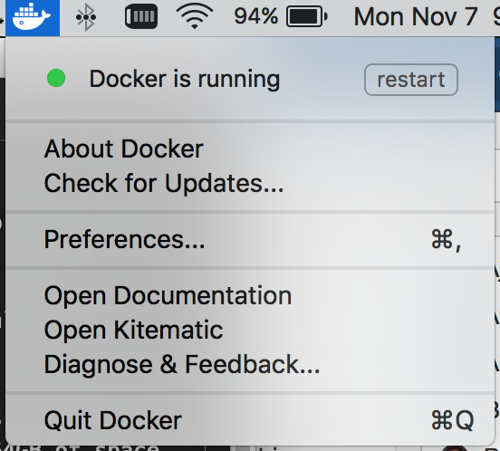 How to increase the size of the base Docker for Ma